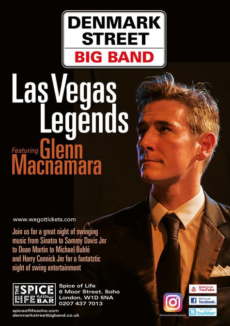 Las Vegas Legends ft. Glenn Macnamara Poster