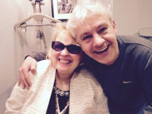 Meeting the great Diane Schuur backstage at Ronnie scotts, what a legend!!