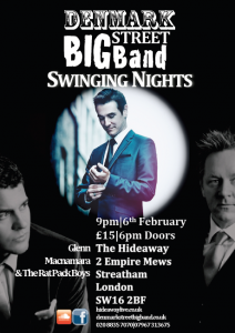 Swinging Nights ft. Glenn Macnamara & The Rat Pack Boys