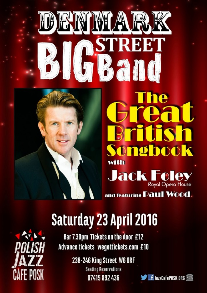 The Great British Songbook with Jack Foley poster