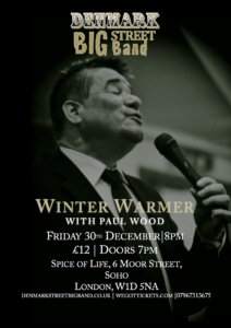 Winter Warmer with Paul Wood