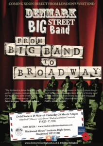 From Big Band to Broadway @ Blackwood