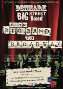 From Big Band to Broadway @ Carmarthen