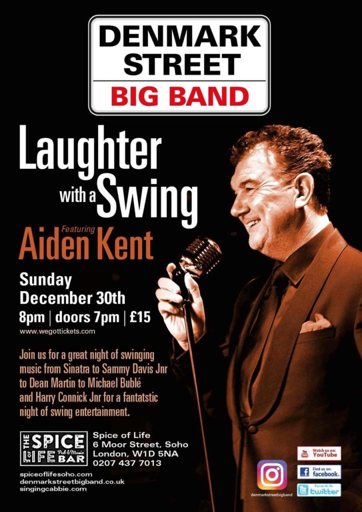 Laughter with a Swing ft. Aiden Kent poster