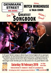 Greatest Songbook ft. Bobby Davro, Mitch Winehouse and Talia Cohen