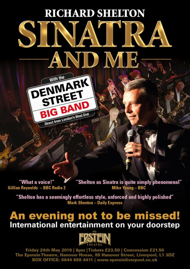 Richard Shelton - Sinatra and Me Poster